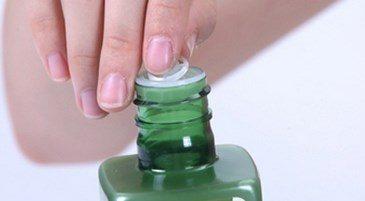 Aloe Plus Hydrator bottle with hand