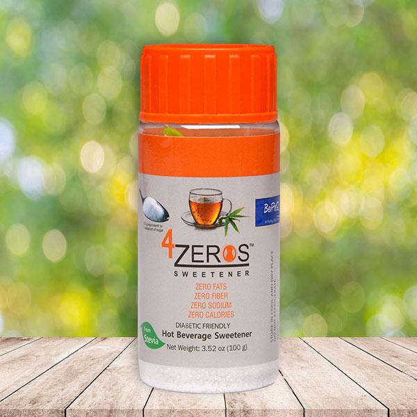 4Zeros™ Sweetener from STEVIA w/ serving spoon - Diabetic Friendly