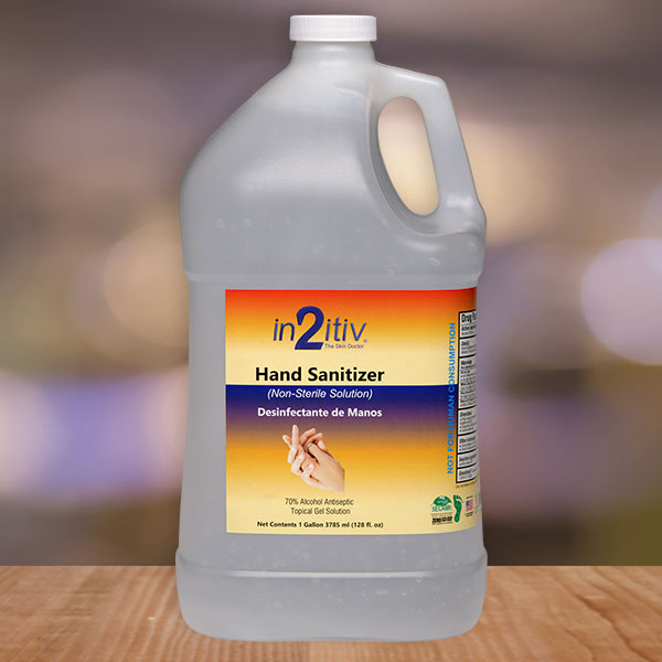 in2itiv® Topical Hand Sanitizer Available In 1 Gallon