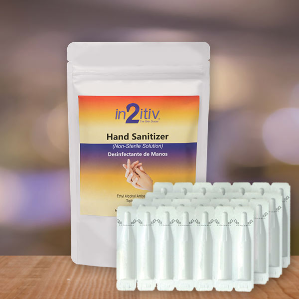 in2itiv® 28 VialPaQ Topical Gel Hand Sanitizer