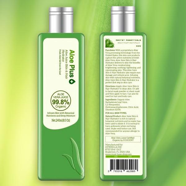 Secret Essentials Aloe Plus Juice Hydrator